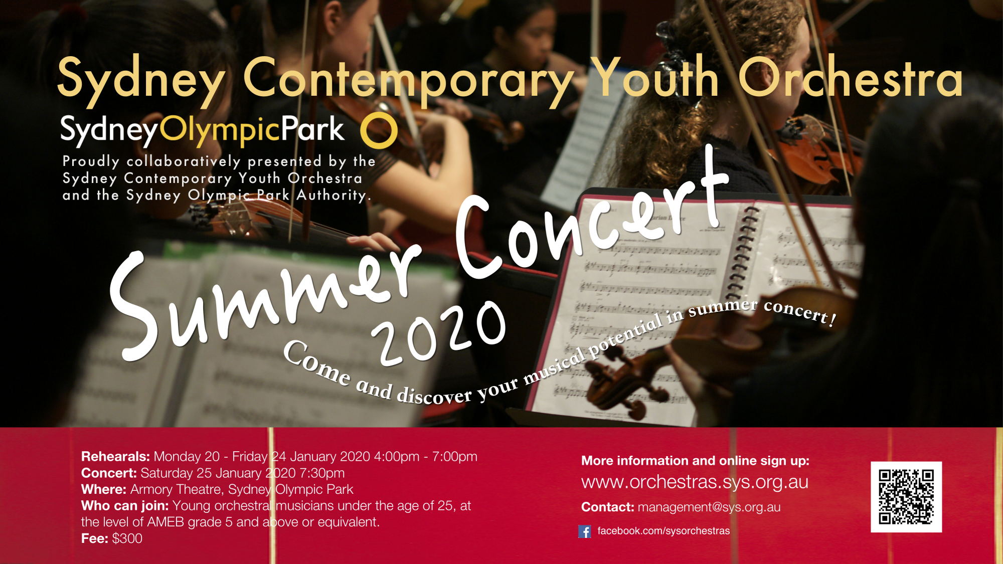 SUMMER TRAINING AND SUMMER CONCERT 2020