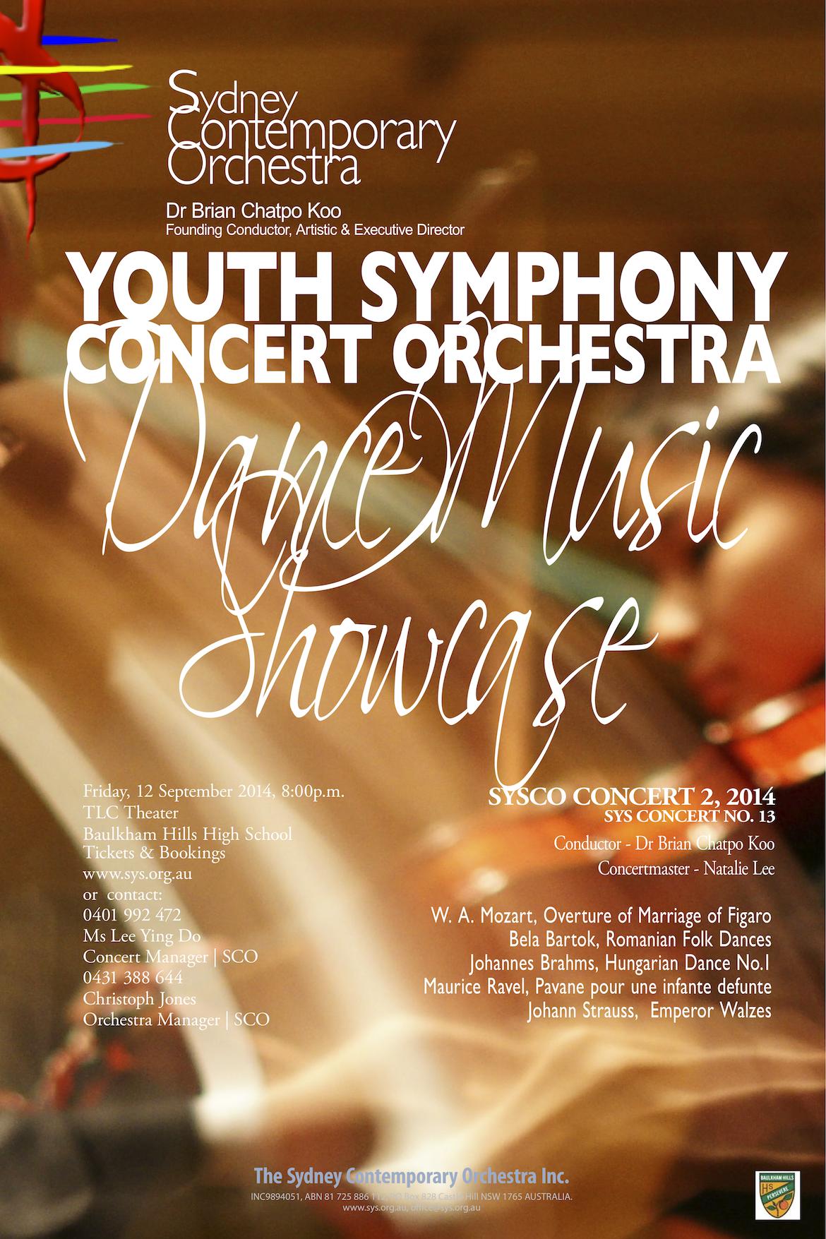 DANCE MUSIC SHOWCASE SYSCO CONCERT 2 2O14 (sys concert no.19)