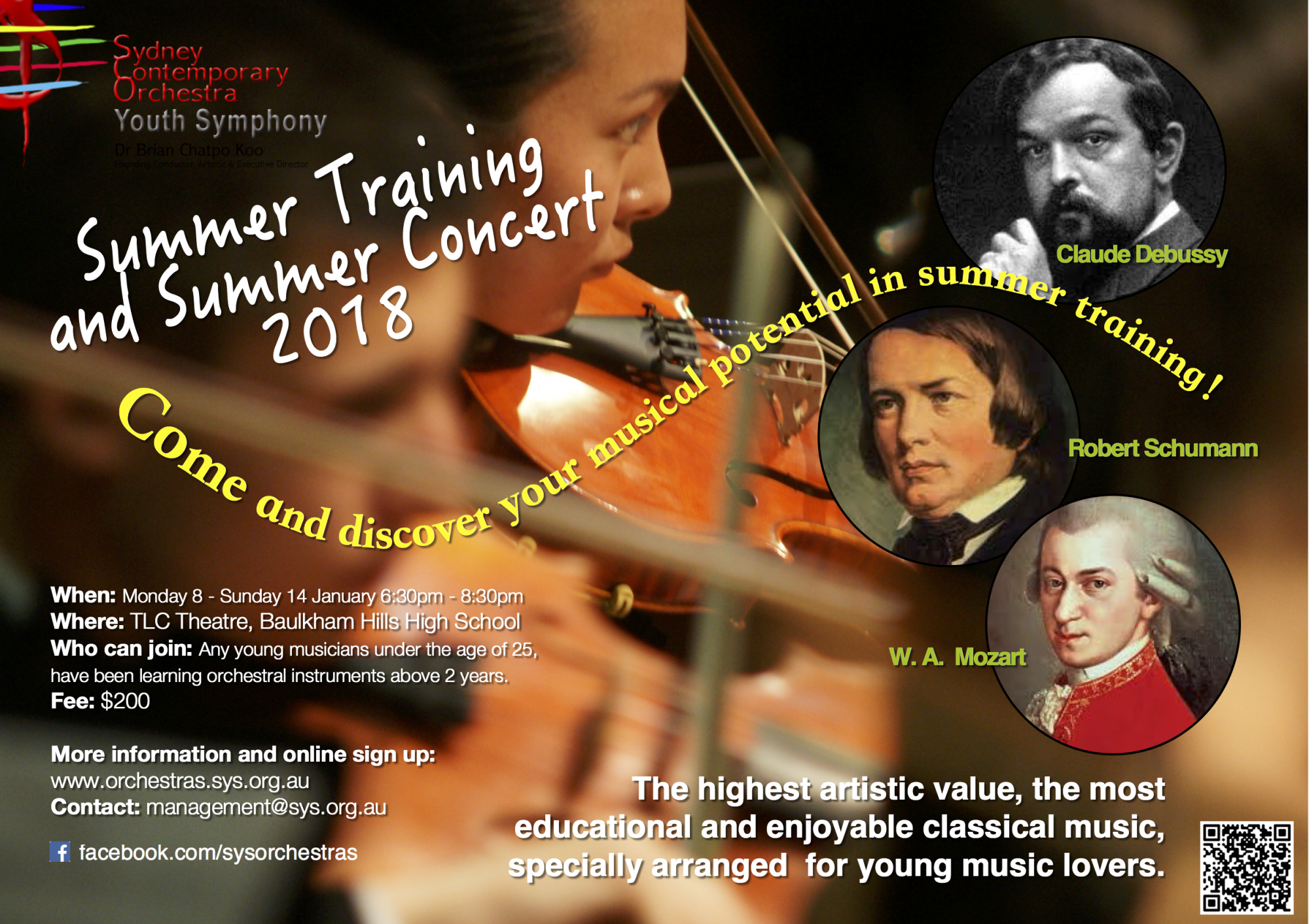 Summer Training and Summer Concert 2018